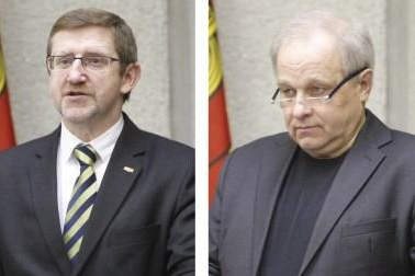Klaipėdos vicemerai – A.Šulcas ir V.Čepas