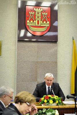 Kviečiame į Klaipėdos m. mero Vytauto Grubliausko inauguraciją