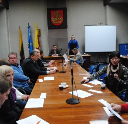 LRLS Klaipėdos – Telšių koordinacinės tarybos posėdis Klaipėdoje