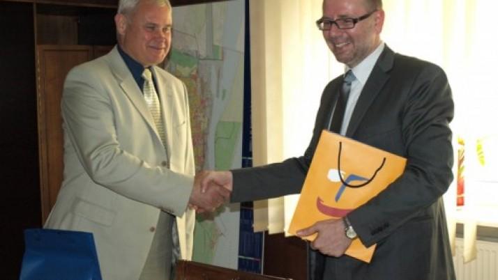 Klaipėdos meras inicijavo pirmąjį Čekijos ambasadoriaus apsilankymą Klaipėdoje