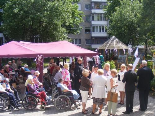 Mero V.Grubliausko ir D.Stankaitienės akiratyje – socialinių įstaigų kasdienybė