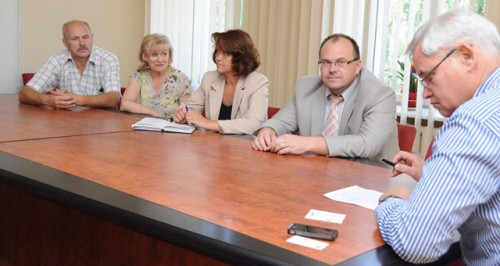 Vytautas Grubliauskas džiaugėsi įvyksiančia Baltarusiškos dainos švente Klaipėdoje