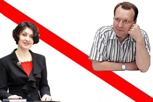 A. Velykienės ir N. Puteikio nesutarimai dėl Danės krantinių