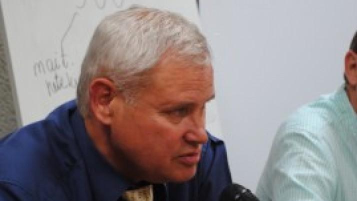 Klaipėdos meras V. Grubliauskas apie miesto apšvietimą žiemos metu