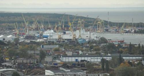 Uosto ir miesto tarpusavio dialogas