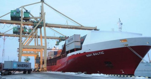 NATO kroviniai – saugaus uosto požymis