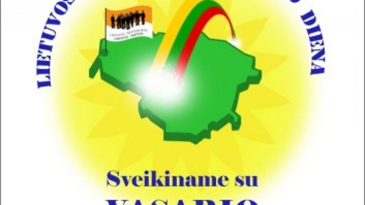 Sveikiname su Vasario 16-ąja. Lietuvos valstybės atkūrimo diena !
