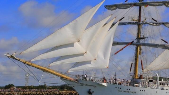 "Dovana 765-ajam Klaipėdos gimtadieniui – ""Tall Ships Races"" regata"