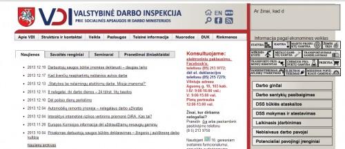 Liberalai: privaloma deklaracija Darbo inspekcijai turėtų tapti savanoriška