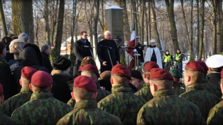 Pagerbti žuvusieji už Klaipėdos krašto ir Lietuvos vienybę