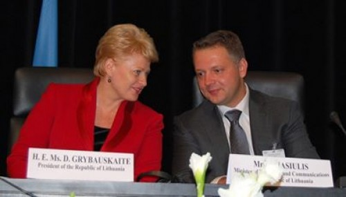 Liberalų sąjūdis artėjančiuose Prezidento rinkimuose – už Dalią Grybauskaitę