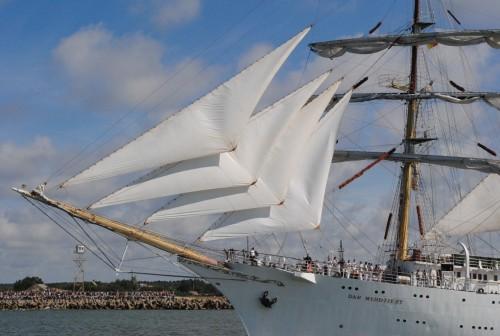 """2015-ųjų vasarą Klaipėdoje – burlaivių regatos """"The Tall Ships Regatta"""" startas"""