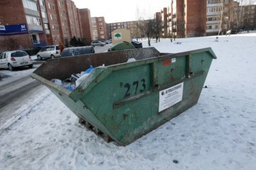 Didžiosioms atliekoms Klaipėdoje – specialūs konteineriai