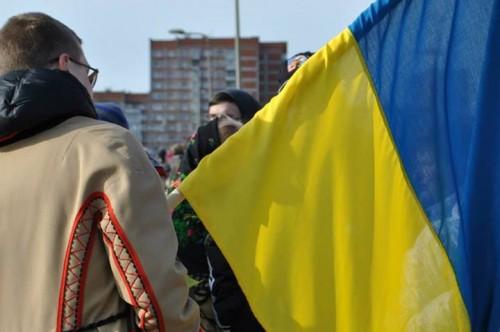 """Paroda """"Maidano veidai: Kijevas 2013–2014"""" Klaipėdoje"""