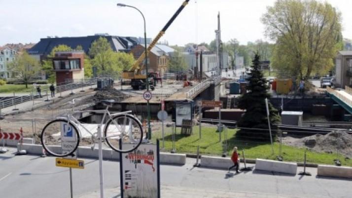Pilies tilto remontą užsibrėžta pabaigti dar šiais metais