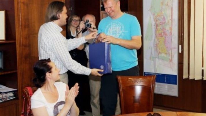 """Originaliausiu laivų parado dalyviu pripažintas Klaipėdos liberalo jachta """"Sarmatija"""""""