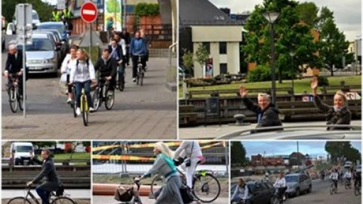 Už Klaipėdą dviračius mynė ir Liberalų sąjūdžio frakcija