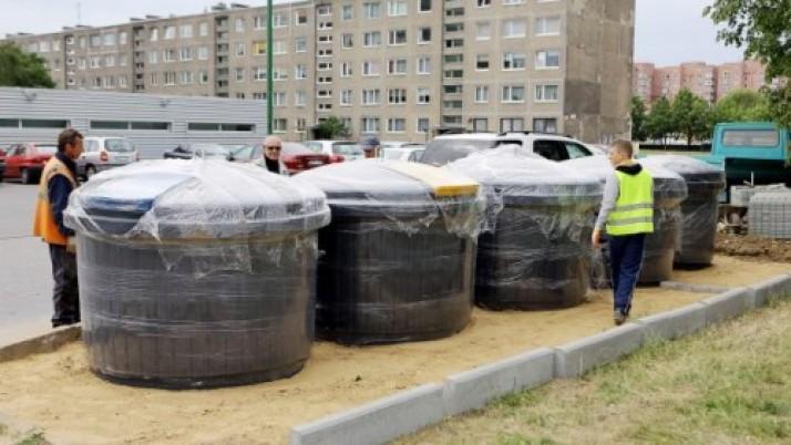 Požeminiai konteineriai – jau mieste