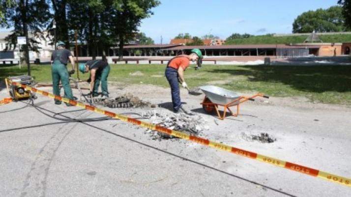 Klaipėdos piliavietės atkūrimo vizija virsta realybe
