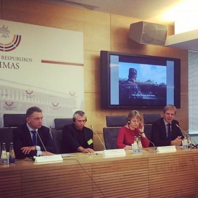 """E. Masiulis: """"Kiek pastangų remdami Ukrainą įdėsime, tiek laisvės ir turėsime"""""""