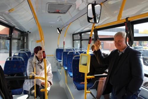 Klaipėdos gatvėse – dar 11-a naujų autobusų