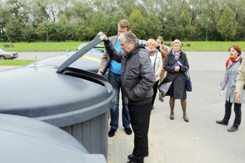 Klaipėdos gyventojai raginami naudotis požeminėmis konteinerių aikštelėmis