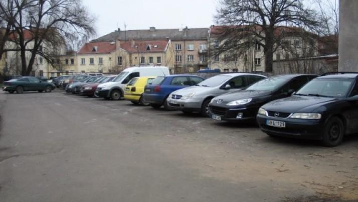 Klaipėdoje už automobilių statymą surinktomis lėšomis   gerinama infrastruktūra