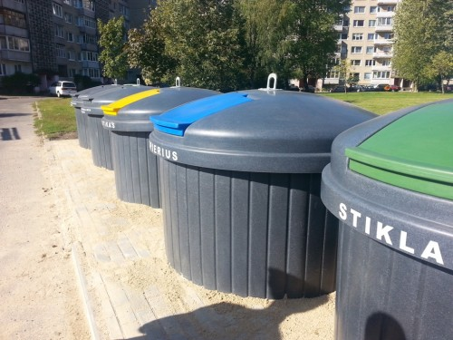 Požeminiai konteineriai – miestiečių geidžiama naujovė