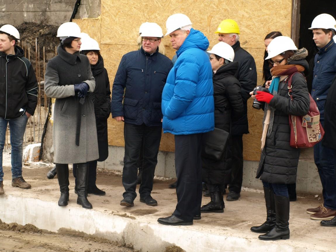 Piliavietėje jau atlikta trečdalis statybos darbų