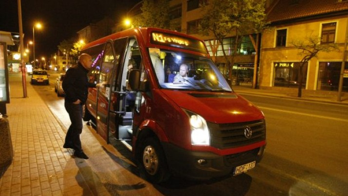 Uostamiestyje išriedės naktinis autobusas