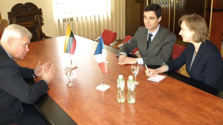 Klaipėdoje – užsienio diplomatų ir verslininkų vizitų gausa