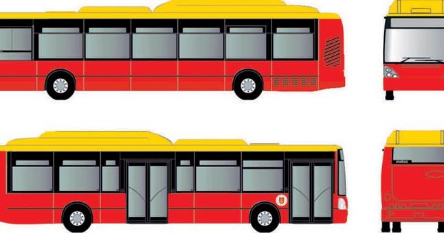 Ryškėja naujas autobusų drabužis