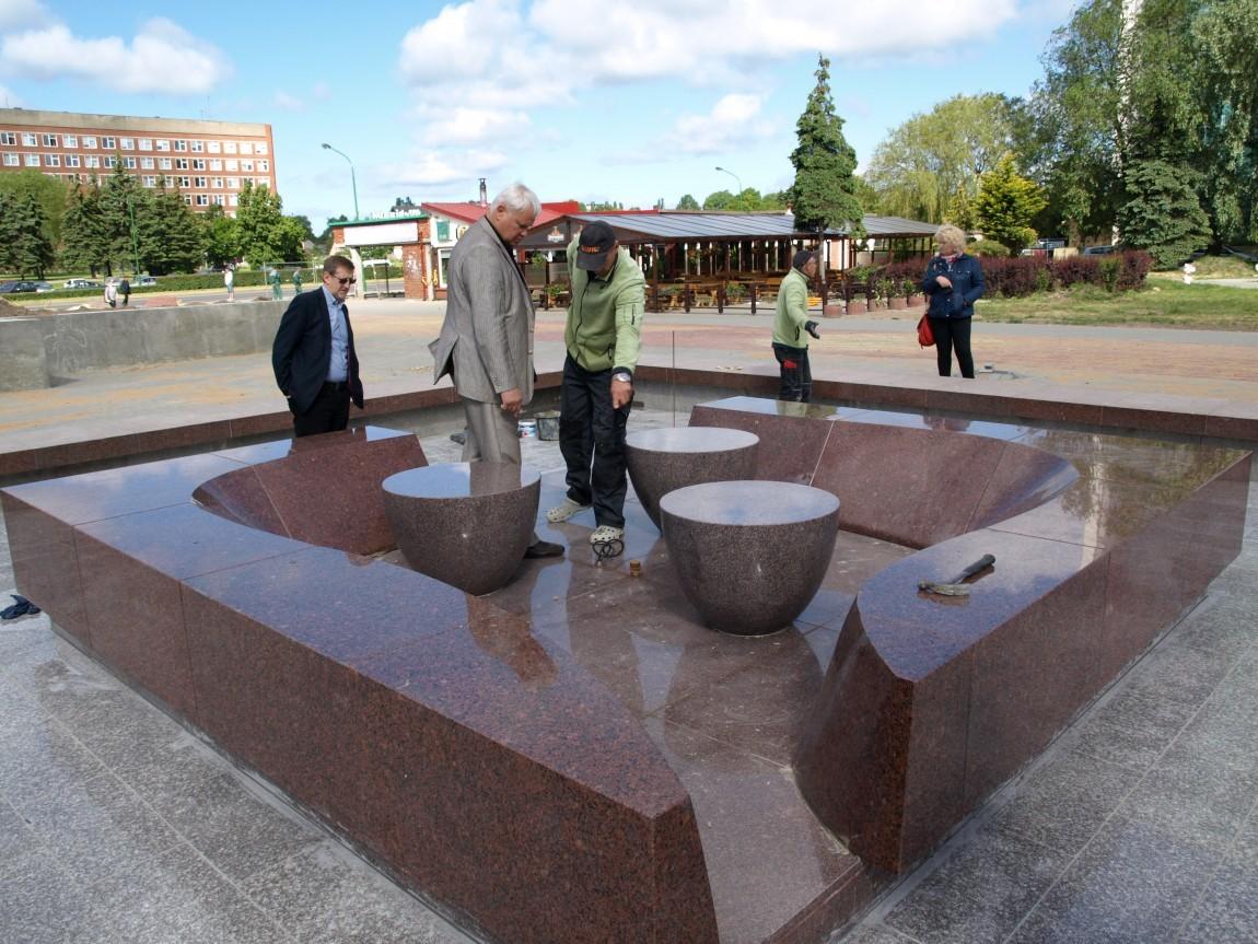 Fontanas Debreceno aikštėje veiks jau šią vasarą