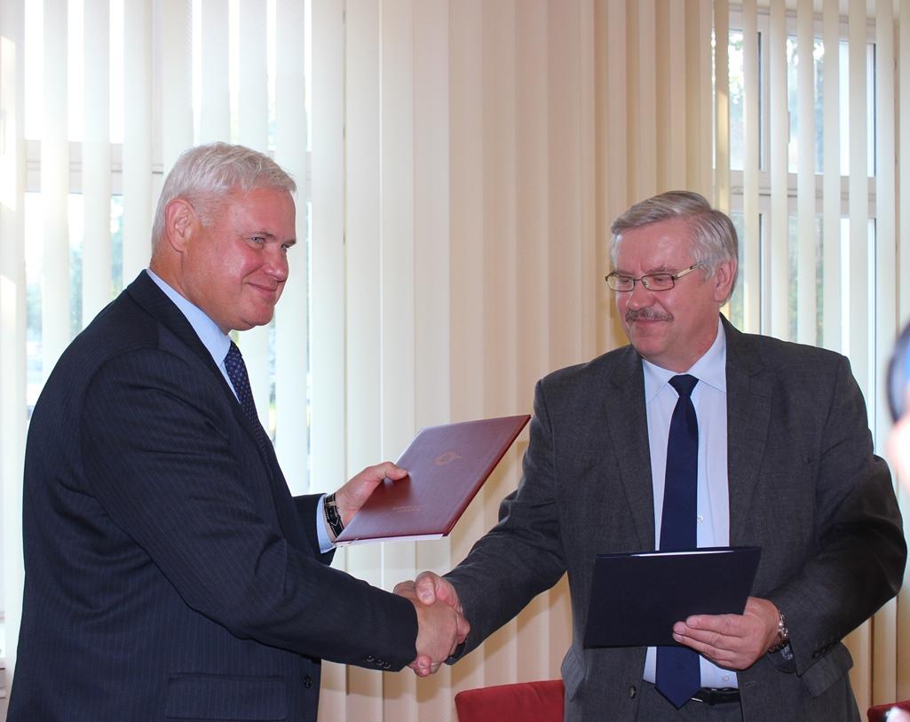 Klaipėdos miestas ir rajonas susitarė dėl bendradarbiavimo