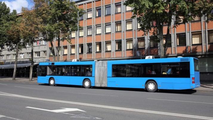 Uostamiesčio gatvėse – mėlyni autobusai