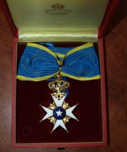 Klaipėdos merui – Švedijos karalystės apdovanojimas