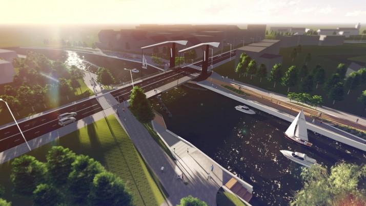 Naujas tiltas Klaipėdoje iškils 2020-aisiais