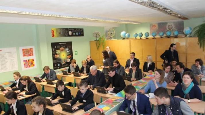 """Klaipėdoje atidaryta """"Šiuolaikinės mokymo(si) aplinkos"""" klasė"""