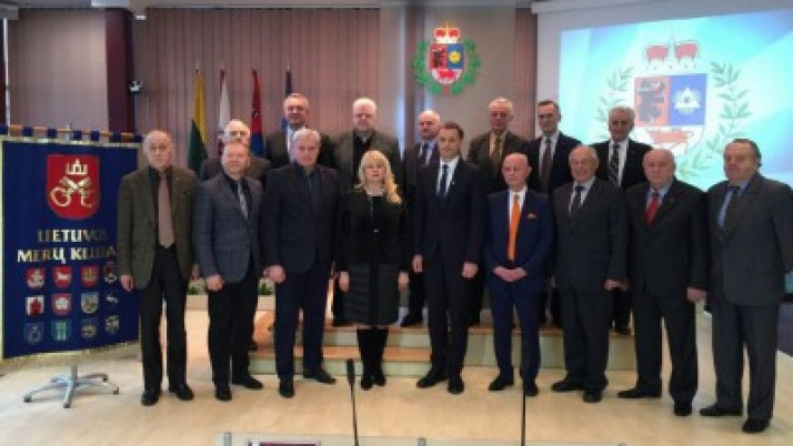 V. Grubliauskas išrinktas Lietuvos merų klubo prezidentu