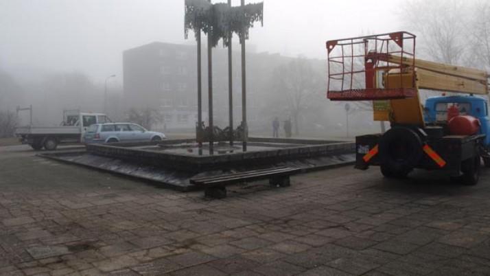 Atnaujinamos pietinių Klaipėdos rajonų aikštės