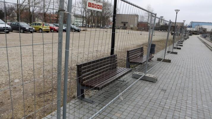 Pilies gatvėje prasidės aikštelės rekonstrukcija
