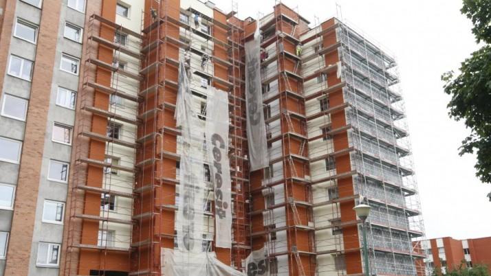 Daugiabučių namų renovacija Klaipėdoje vyksta sparčiai