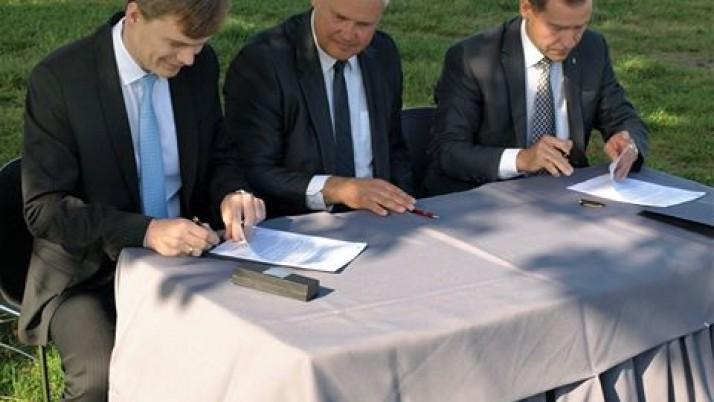 Prasideda naujojo Klaipėdos baseino statybos