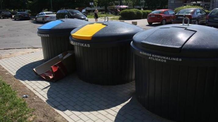 Klaipėdos gyventojams – beveik 4000 naujų konteinerių