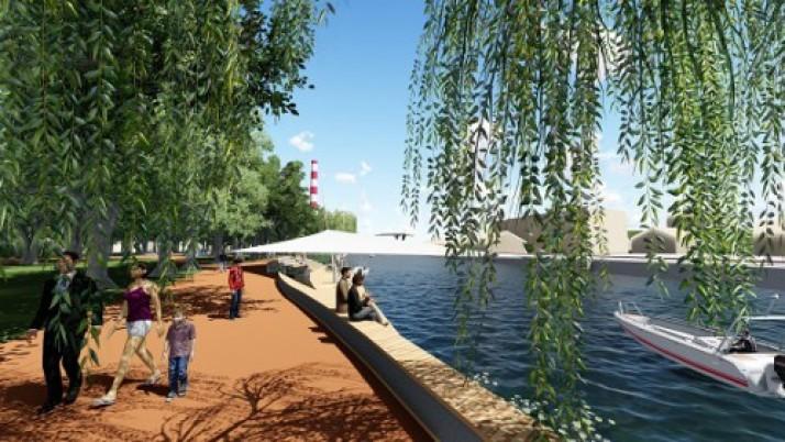 Klaipėdoje bus sukurta dar viena patraukli viešoji erdvė: atgims Danės skveras