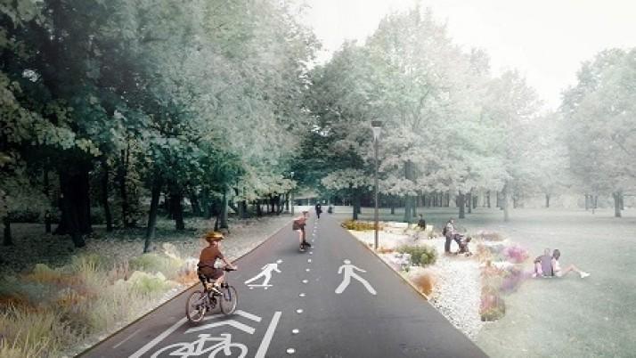 Kauno gatvės gyvenamajame kvartale – kokybiška erdvė poilsiui