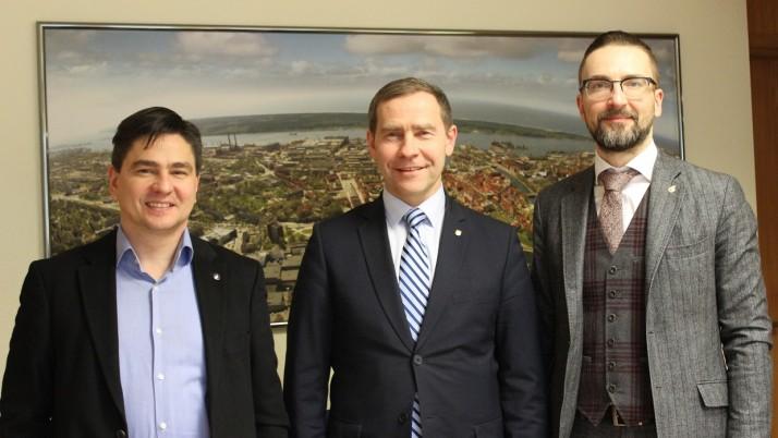 Savivaldybėje aptarta Klaipėdos futbolo ateitis