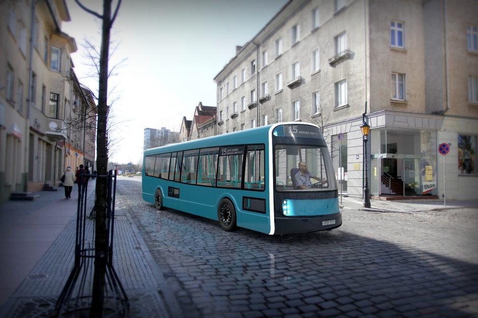 Klaipėdoje kursuos maršrutinis elektrobusas