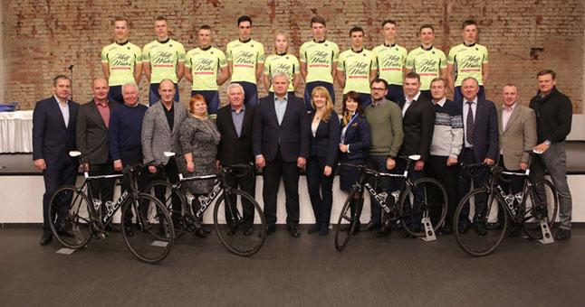 Klaipėdoje suburta perspektyvių dviratininkų komanda