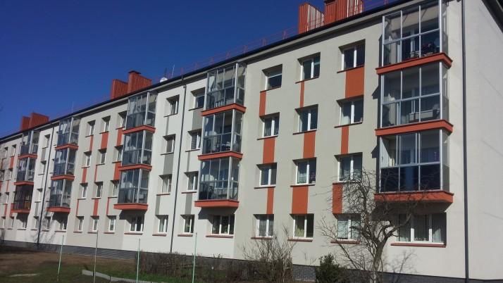 Klaipėda pirmauja daugiabučių namų atnaujinimo procese